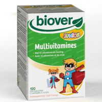 Biover Junior Multivitamine 120  zuigtabletten