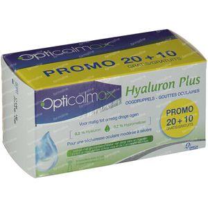 Opticalmax Hyaluron Plus Reduced Price 30x0,5 ml