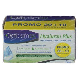 Opticalmax Hyaluron Plus Reduzierter Preis 30x0,5 ml
