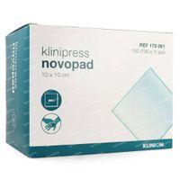 Klinion Novopad Absorb Kompres 10x10cm 175061 100 stuks