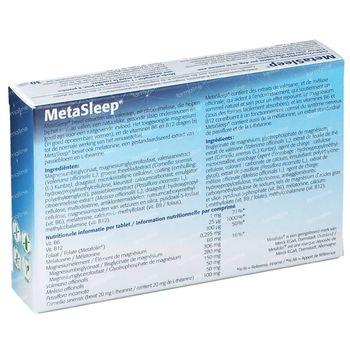 MetaSleep 30 tabletten