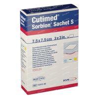 Cutimed Sorbion Sachet S 7,5x7,5 cm 7323200 10 st