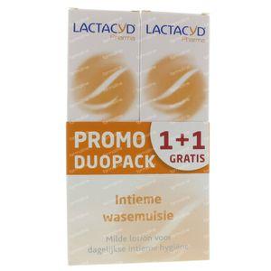 Lactacyd Pharma Soin Intime Lavant Promo 1+1 Gratuit 2x250 ml