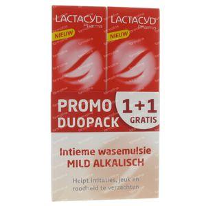 Lactacyd Pharma Alkaline Promo 1+1 Gratuitamente 2x250 ml