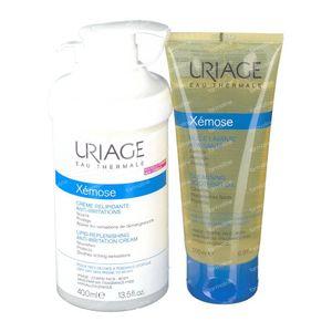 Uriage Xémose Crema + Aceite Limpiador Pack 400+200 ml