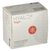 Hyalo 4 Regen Gaasverband 5x5cm 5 st