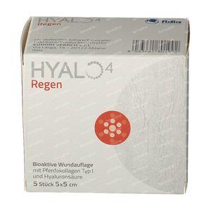 Hyalo 4 Regen Gauze 5x5cm 5 pieces