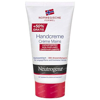 Neutrogena Handcreme Ohne Parfum Limited Edition + 50% GRATIS 50+25 ml