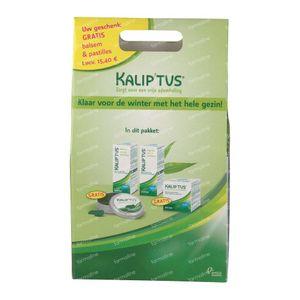 Kalip'tus Set Lotion 30 ml + Balsamo 50 ml + Pastilles 30 + 50 ml