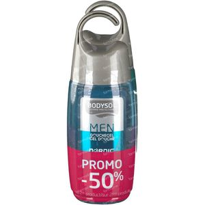 Bodysol Men Gel Douche Nordic + Menthol 2ième à -50% 2 x 250 ml