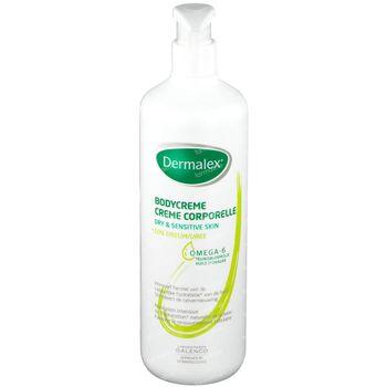 Dermalex Crème Corporelle 10% Urée - Peau Sèche et Sensible Prix Réduit 500 ml