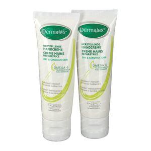 Dermalex Crème Mains Duo 2ième À -50% 2 x 25 ml crème