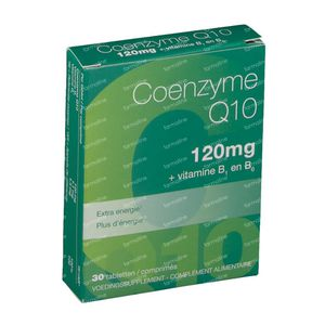 Coenzyme Q10 120mg Nieuwe Formule 30 tabletten