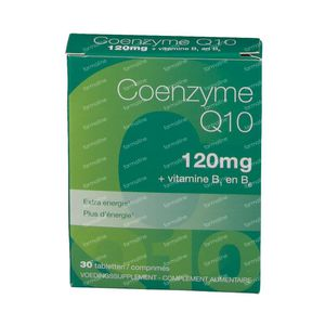 Coenzyme Q10 120mg New Formula 30 tablets
