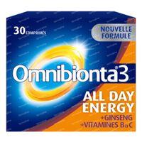Omnibionta 3 All Day Energy Multivitamine 30  comprimés