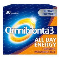 Omnibionta 3 All Day Energy Multivitamine 30  tabletten