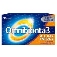 Omnibionta 3 All Day Energy Multivitamine 90  tabletten