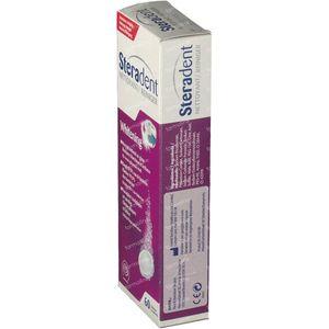 Steradent Whitening Pro 60 comprimés effervescents