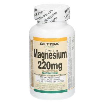 Altisa Magnesium Citrat 100 comprimés