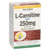 Altisa L-Carnitine 250 mg 60  tabletten