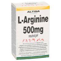 Altisa L-Arginine 500 Mg 90  capsules