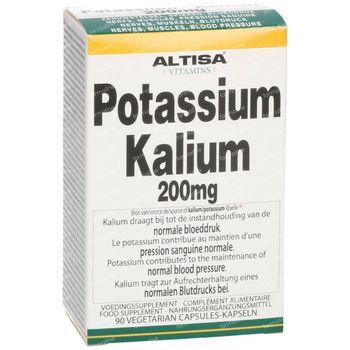Altisa Kalium Potassium 90 capsules