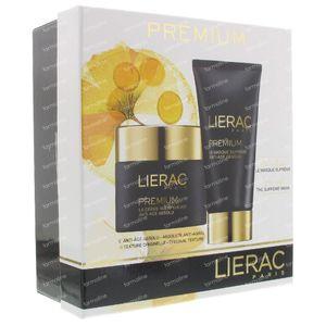 Lierac Coffret Prémium Crème Voluptueuse + Masque Suprème Promo 50+75 ml