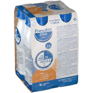 Fresubin 2 Kcal Drink Karamel 4x200 ml