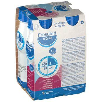 Fresubin Yodrink Framboos 4x200 ml