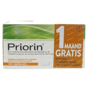 Priorin Strong and Healthy Hair 30 Free Promo 90 + 30 capsules