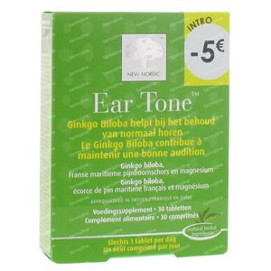 New Nordic Tone Hearing Balance Nerves Promo Lowered Price 30 tablets