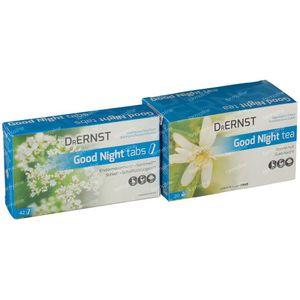 Dr Ernst Good Night 42 Compresse + Good Night Tea 20 Bustine 42 + 20 Pezzi