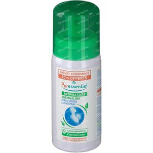 Puressentiel Spray Respiratore Aria 19 Oli Essenziali 60 ml Spray