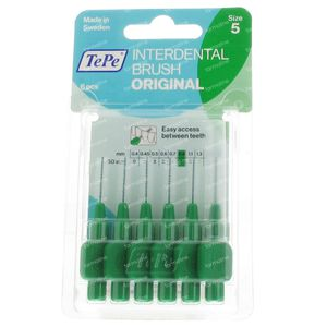 Tepe Interdental Brush 0.80mm Groen 6 stuks