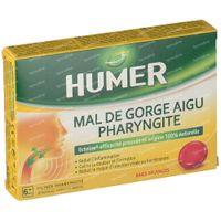 Humer Pharyngite 20  comprimés à sucer