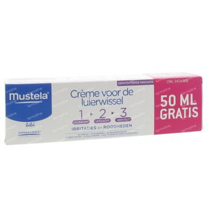 Mustela Bebè Pasta Per Il Cambio 1-2-3 Con 50ml GRATIS 150 ml