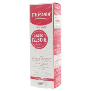 Mustela Maternité Light Legs Gel Promo 125 ml
