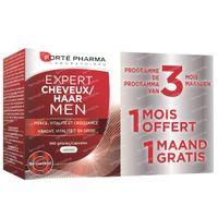Forté Pharma Expert Haar Men 2+1 Maand GRATIS 120+60  capsules