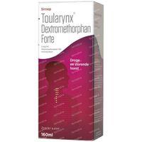 Toularynx Dextromethorpan Forte Droge Hoest 160 ml siroop