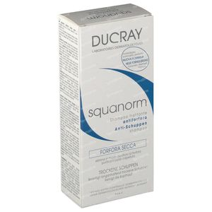 Ducray Squanorm Anti-dandruff Treatment Shampoo - Dry Dandruff Reduced Price 200 ml