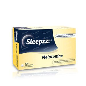 Sleepzz Melatonine 100 tabletten