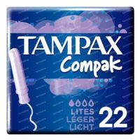 Tampax Compak Light 22 pièces