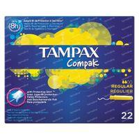 Tampax Compak Regular 22 pièces