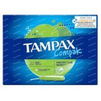 Tampax Compak Super 22 pièces