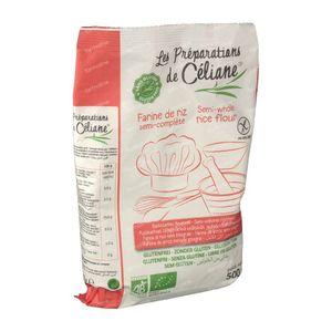 Celiane Farine De Riz Semi-Brun Bio 500 g