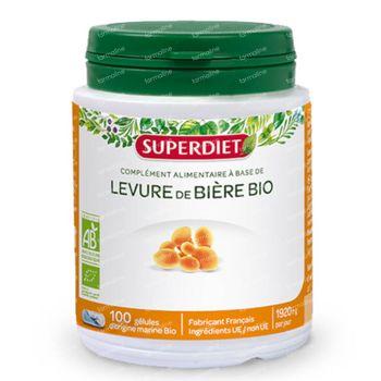 Superdiet Levure De Bière Bio 100 capsules