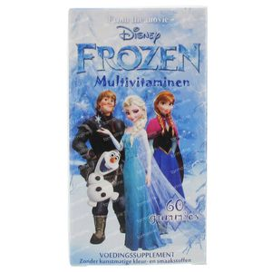 Disney Multivitamines Frozen 60 St capsules