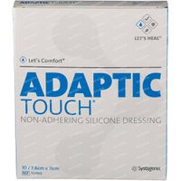Adaptic Touch Silicone 7,6x11cm tch502 10 st
