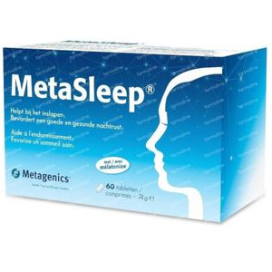 MetaSleep 60 tabletten