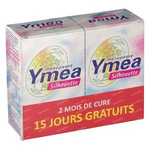 Ymea Menopause & Silhouette Nouvelle Formule Duo 2x64 capsules